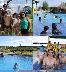 Em um domingo ensolarado, Tibungo Park recebe autoridades, turistas e banhistas do norte e nordeste em um dia de lazer