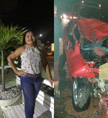Professora morre após colisão entre carro e caminhão na PI-243 entre os municípios de Jaicós e Belém do Piauí