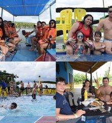 Em um domingo de muito lazer e diversão, Tibungo Park recebe banhistas de diversos estados do nordeste