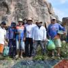 PADRE MARCOS| Igreja Santo Antônio com apoio da Prefeitura Municipal da início as obras de revitalização do morro da 'Pedrona'