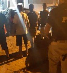 Em Picos, PRF prende indivíduos por porte de droga para consumo e desobediência