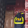 Vídeo: PRF apreende R$ 2,5 milhões em cigarros contrabandeados no Piauí