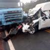 Colisão entre carreta e ambulância deixa uma pessoa morta na BR 135