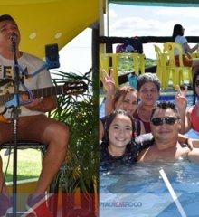 Com show de Edy Sakana, Tibungo Park recebe banhistas e turistas de diversas cidades no aniversário de 1 ano do Park Aquático