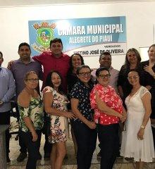 Em Alegrete, prefeito Márcio Alencar  envia projeto de lei que  reajusta aumento  Salarial para professores em 16%;  Dois terço da  Câmara votou e aprovou o reajuste