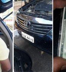 Em Campo Grande do Piauí, Polícia Militar prende homem com veículo clonado e realiza diligências em busca de suspeito de assalto a posto de combustíveis