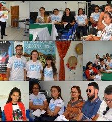 Em Fronteiras, prefeita Maria José e secretários participam de reunião intermediária de acompanhamento do Selo UNICEF 2017/2020