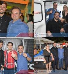 SANTO ANTÔNIO DE LISBOA   Shows com Gean Batidão, Iohannes e Edy Sakana encerram festejos 2019 do padroeiro; prefeito Welington Carlos e Mainha entregam veículos à Saúde