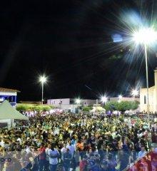 SIMÕES 65 ANOS |Prefeito Zé Wlisses e autoridades prestigiam Missa em Ação de Graças e Show de Calouros no 4º dia de atividades festivas