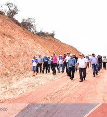 Simões 65 anos| Prefeito Zé Wlisses entrega Ginásio  Poliesportivo, Posto de Saúde em povoados do município