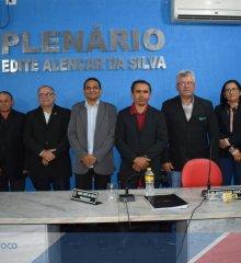 PADRE MARCOS | Presidente da Câmara, Irmão Adão, anuncia o retorno das atividades do legislativo nesta sexta-feira (02)