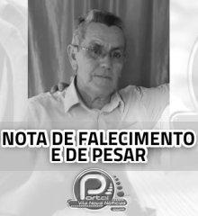 Morre em Teresina  aos 74 anos  o ex-vereador  de Vila Nova  Chico Ana