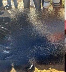 Agricultor morre eletrocutado e carbonizado após passar com moto sobre fio em Caldeirão Grande