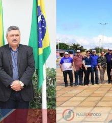 SIMÕES 65 ANOS |Prefeito Zé Wlisses e grande comitiva participam de ato cívico, inauguração na Serra dos Cláudios e visita a obras no povoado Maria Preta