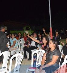 Padre Marcos  Missionários Evangelista Roberto e Mikaela realizam trabalho social e culto na localidade Curral Velho