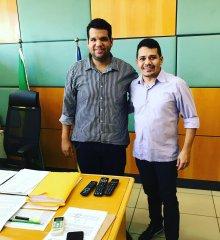 Em Teresina, líder político Abimael Costa reivindica benefícios para São Julião junto a Superintendência do Ministério da Agricultura no Piauí
