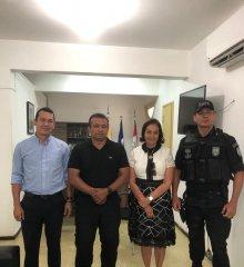 FRONTEIRAS   Prefeita Maria José reúne-se com secretário Fábio Abreu e articula intensificação das operações de segurança na região