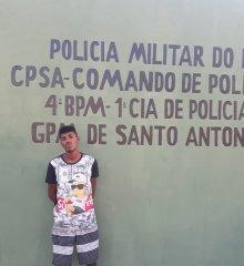 Em Santo Antônio de Lisboa, GPM prende homem em flagrante por comercialização de drogas