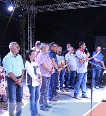 Em Simões, I EXPOCAPRINOR é aberta oficialmente pela a Associação de Caprinos e Ovinos; órgãos   como prefeitura e SEBRAE incentivam e apoiam o evento
