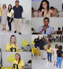 Em Simões, servidores das secretarias de Saúde, Assistência Social e Educação promovem ações do 'Setembro Amarelo'