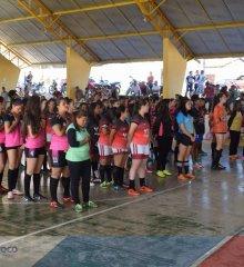 PADRE MARCOS| II Campeonato de Futsal feminino é iniciado com jogos de goleadas e grande público jovem