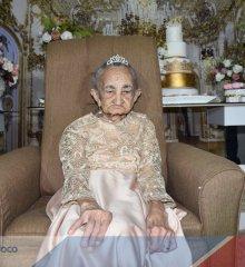 ALEGRETE | Família Araújo Sousa celebra com grande festa os cem anos de Amélia Isabel, a 'Neguinha'