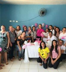 Em Santo Antônio de Lisboa, SMS promove roda de conversa sobre prevenção do câncer de mama