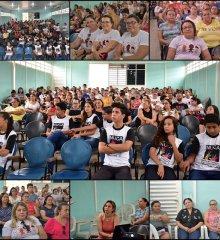 FRONTEIRAS| Semana do bebê conta com palestra sobre alimentação saudável ministrada pela Drª Kassandra Bezerra