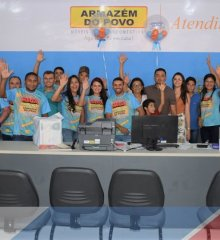 MARCOLÂNDIA| Inauguração de mais uma loja do grupo Armazém do Povo com a presença da família Viana, autoridades e grande público!