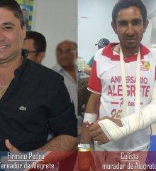 Em Alegrete, vereador agride popular a pauladas até quebrar braço