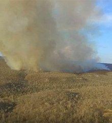 Pio IX ainda tenta combater incêndio em assentamento