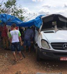 Santa Cruz do Piauí| grave acidente envolvendo Van deixa duas vítimas fatais e vários feridos