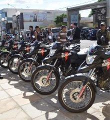 Em Picos, Batalhão da Polícia Militar recebe novas viaturas durante lançamento de operação