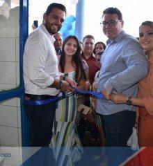 Em Santo Antônio de Lisboa, Welington e Dr. Karlão entregam reforma do Hospital Pedro Vicente