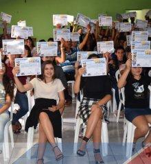 Em Padre Marcos, 150 Jovens recebem certificados de curso de informática em parceria com Sindicato dos Trabalhadores!