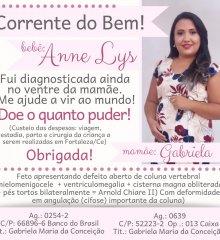 Em Picos, gestante pede ajuda para realizar cirurgia do seu bebê com deformidade na coluna