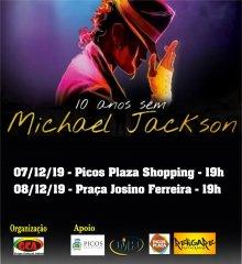 """Em Picos, O VII Festival de dança """"10 Anos sem Michael Jackson"""" do Grupo Adimó contará a história de Michael Jackson através da dança"""