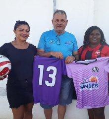 Em Simões,  equipe de futebol feminino do povoado Maria Preta recebe equipe padrão em partida amistosa