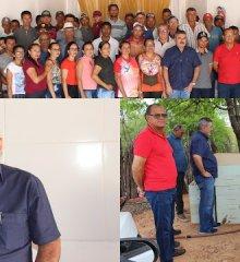 Em Simões, Prefeito Zé Wlisses e Vereadores participaram da reunião da associação de pequenos agricultores e apicultores do Sítio Curtume