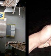 No interior do Piauí, trio explode posto bancário e troca tiros com a polícia