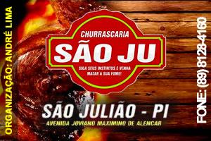 Banner Churrascaria Saoju